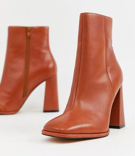 botas cuero mujer