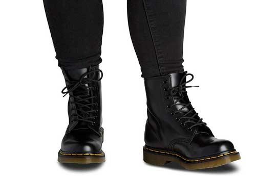 botas dr martens media caña