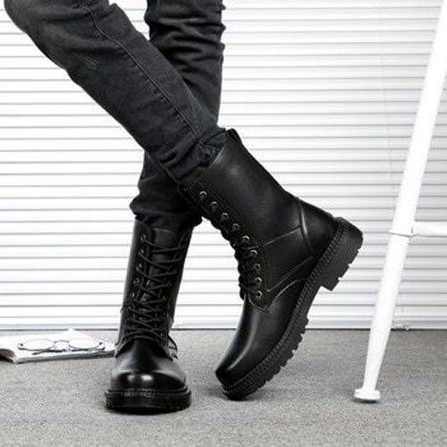 botas media caña hombre