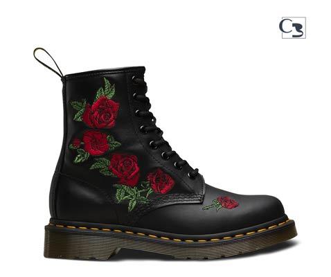 botas dr martens rosas
