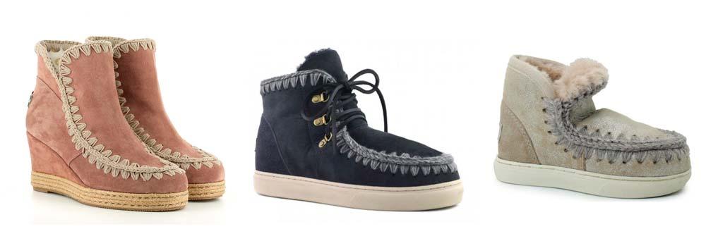 botas mou niños
