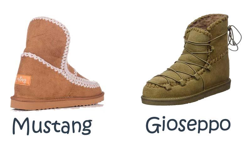 botas tipo mou