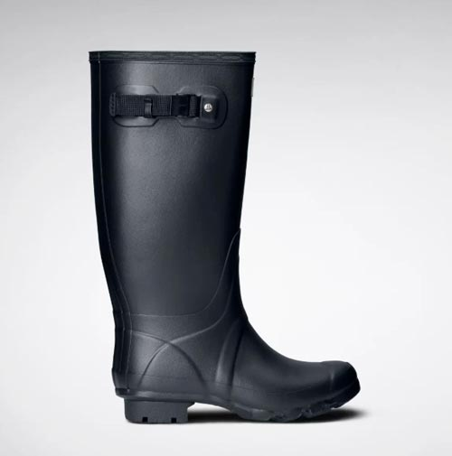 botas hunter de pierna ancha