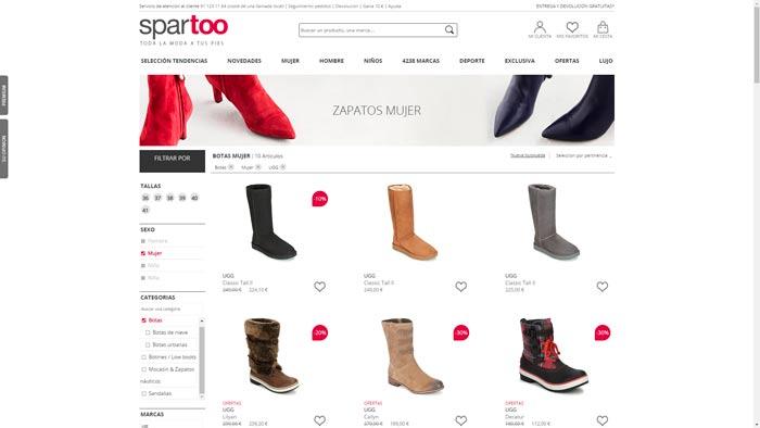 ofertas botas australianas