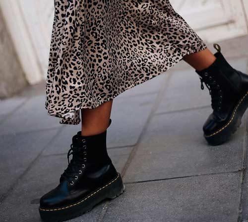 botas plataforma mujer
