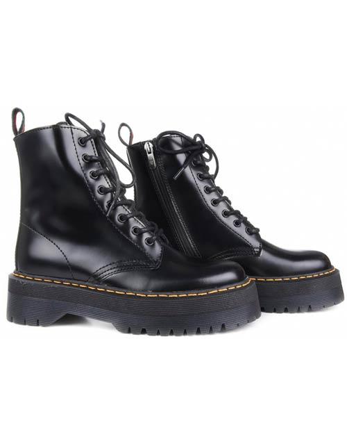 botas alpe negras
