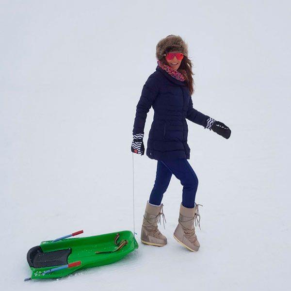 combinar botas de nieve