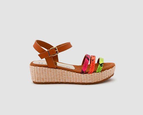 sandalias plataforma niña